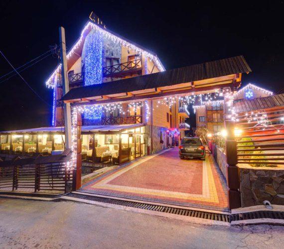 Отдых в Буковеле (Полянице) зимой 2020 год