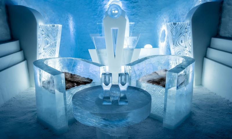 льодовий готель Ice Hotel Bukovel