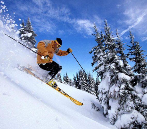 Катание на лыжах: пик популярности
